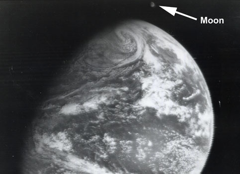 1966: First view of Earth and the Moon together (ATS-1)