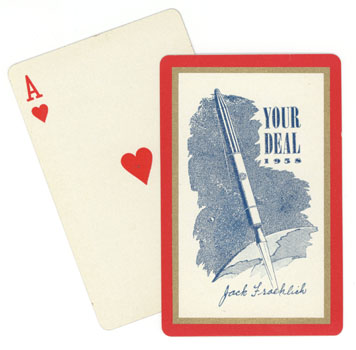 Project Deal Playing Cards