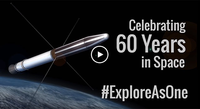 Explorer 1: Celebrating 60 years in Space